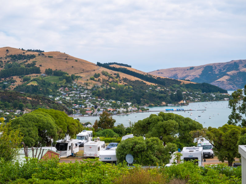 new zealand bank peninsula top 10 campsite