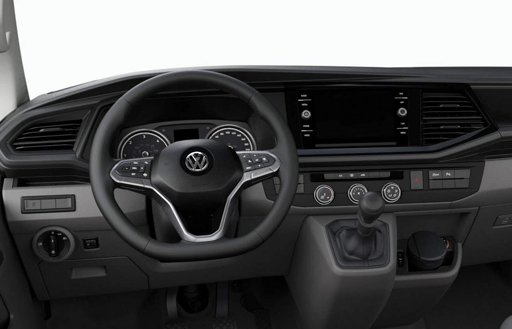 volan cuir multifonction vw california