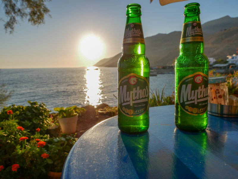 crete mythos beers