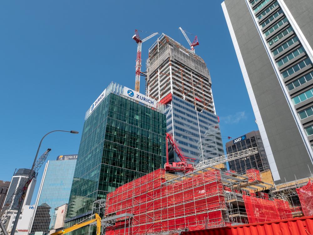 new zealand auckland construction in progress