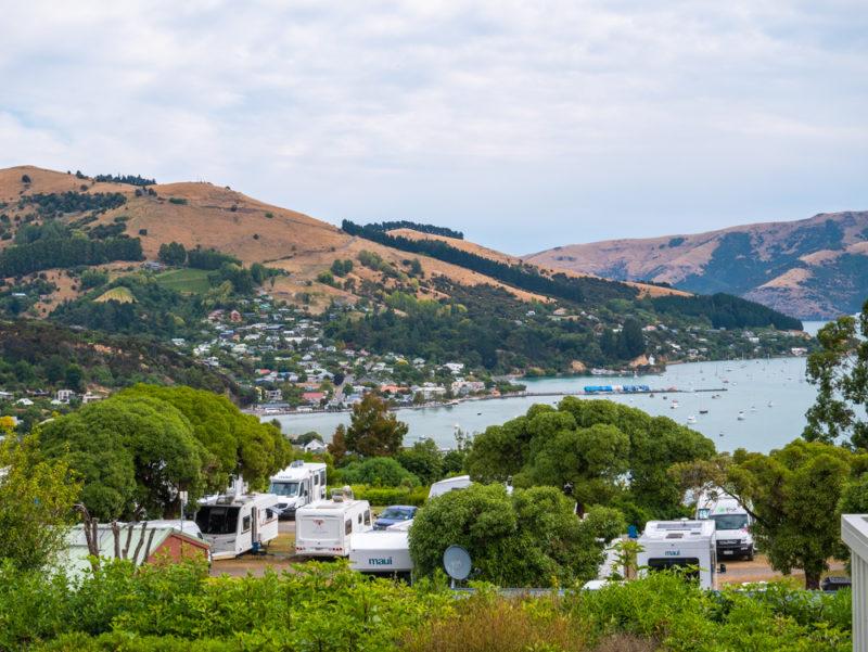 new zealand bank peninsula top 10 campsite