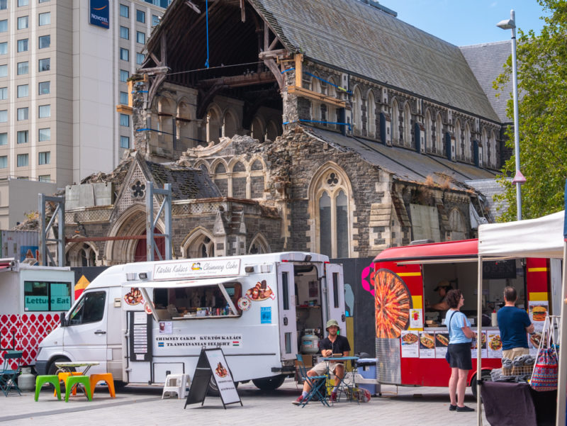 new zealand christchurch demolished cathedral