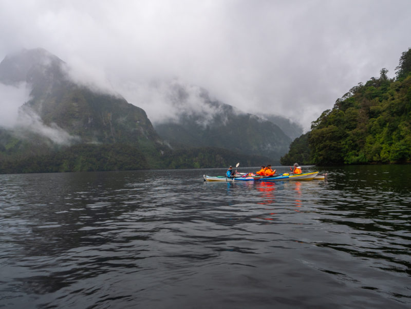 new zealand doubtful sound kayaking