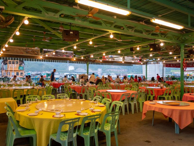 lamma rainbow sea food restaurant